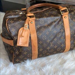 RARE Louis Vuitton monogram small duffle bag